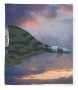 Vulcan Bomber 2 Fleece Blanket