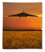 Vulcan Farewell Fly Past Fleece Blanket