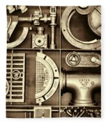 Vulcan Steel Steampunk Ironworks Fleece Blanket