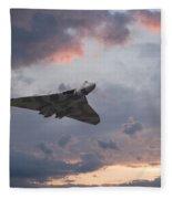 Vulcan Sunset Fleece Blanket
