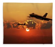 Vulcans Inbound Fleece Blanket