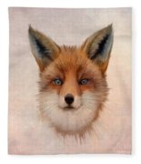 Vulpes Vulpes Fleece Blanket