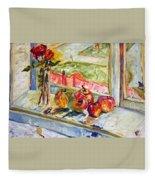 Vyhled Z Atelieru Fleece Blanket