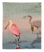Wade Fishing The Laguna Fleece Blanket