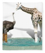 Wading Pool Fleece Blanket