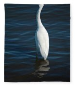 Wading Reflections Fleece Blanket