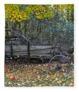 Wagon Fleece Blanket