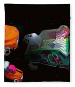Wagon Train To The Stars 3 Fleece Blanket