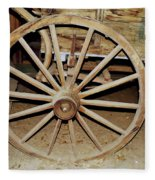 Wagon Wheel Fleece Blanket