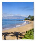Wailea, Ulua Beach Fleece Blanket