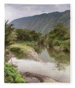 Wailoa Stream Fleece Blanket
