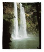 Wailua Falls 3 Fleece Blanket