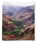 Waimea Canyon 1 Fleece Blanket