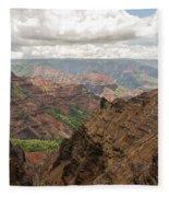 Waimea Canyon 4 Fleece Blanket