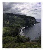 Waipio Bay Fleece Blanket