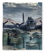 Waiting For A Mission Fleece Blanket