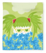 Waiting For Spring Fleece Blanket