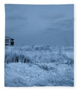 Waiting For Summer - Jersey Shore Fleece Blanket