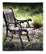 Waiting For You Fleece Blanket