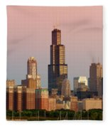 Wake Up Chicago Fleece Blanket