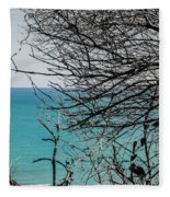 Waking Up Fleece Blanket