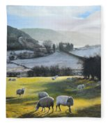 Wales. Fleece Blanket