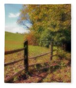 Walk With Me Fleece Blanket