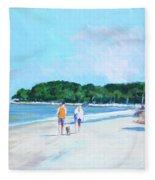 Walking Down The Isle Fleece Blanket