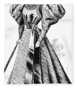 Walking Dress, 1890s Fleece Blanket