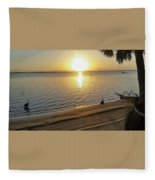 Walking On Sunshine  Fleece Blanket