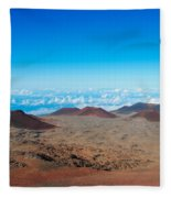Walking On The Moon Fleece Blanket