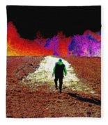 Walking Rocky's Field Fleece Blanket
