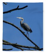 Walking The High Branch Fleece Blanket