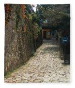 Walking The Streets Of Santa Lucia - 2 Fleece Blanket