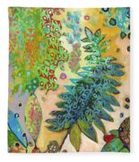 Walking With The Forest Spirits Part 2 Fleece Blanket