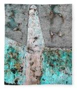 Wall Abstract 118 Fleece Blanket