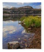 Wall Lake Fleece Blanket