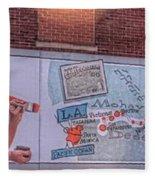 Wall Mural In Pontiac, Illinois Fleece Blanket