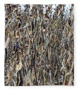 Wall Of Weeds - 2 Fleece Blanket