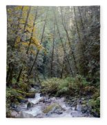 Wallace River Fleece Blanket
