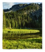 Wallowas - No. 8 Fleece Blanket