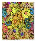 Wallpaper 1972 Fleece Blanket