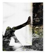 Walls Walks Fleece Blanket
