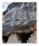 Walnut Canyon National Monument Cliff Dwellings Fleece Blanket