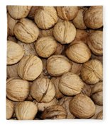 Walnuts Fleece Blanket