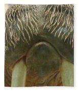 Walrus Whiskers Fleece Blanket