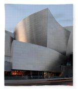 Walt Disney Concert Hall 17 Fleece Blanket