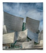 Walt Disney Concert Hall La Ca 7r2_dsc3465_17-01-17 Fleece Blanket