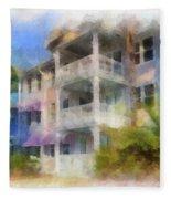Walt Disney World Old Key West Resort Villas Pa 01 Fleece Blanket