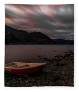 Wanaka Rowboat 2 Fleece Blanket